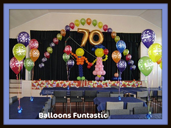 balloon decorations for parties, anniversaries and functions