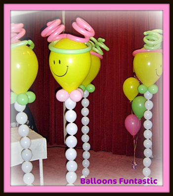 balloons for 21sts and theme partys
