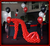 balloon displays, window and static displays